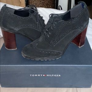 Tommy Hilfiger chunky heeled oxford